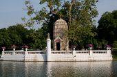 Buddhist Shrine At Bang Pa In, Thailand
