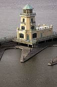 Yellow Lighthouse In Biloxi
