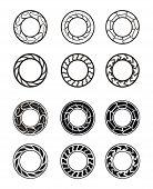 Anillo del círculo redondo (Vector)