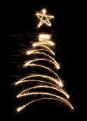 Funny Sparkler Tree