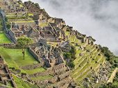 Ancient city of Machu Picchu in Peru