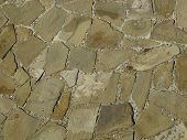 image of stone floor  - Paving stones on an old country road - JPG
