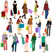 People - Women Shopping No.1.