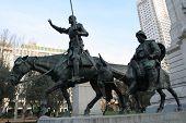 Monument Of Miguel De Cervantes