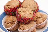 Banana Flax Seed Muffins