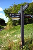 Ridgeway Footpath Sign