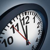 Deadline Symbol With Wall Clock