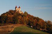 picture of banska  - Autumn Calvary In Banska Stiavnica - JPG