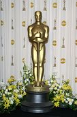 LOS ANGELES - FEB 24: Oscar statue in the press room at the Oscars held at the Kodak Theater in Los