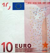 Money Currency Euro Isolated