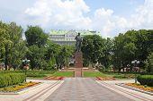 Постер, плакат: Памятник Тарасу Шевченко в парке Киев Украина