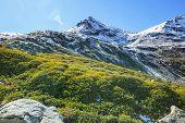 Autumn season in  Kackar Mountains in the Black Sea region of Turkey. Beautiful mountains landscape. poster