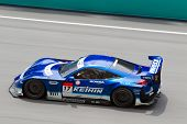 Keihin Real Racing team at the Malaysian SuperGT race