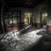 Abandoned Hospital Hallway