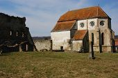 Cistertian church in Transylvania