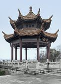 Pavilion In Wuhan