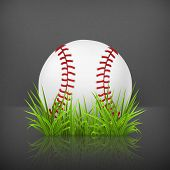 Baseball on grass, 10eps