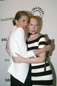 BEVERLY HILLS, CA - MARCH 9: Stana Katic and Molly Quinn arrive at the 2012 Paleyfest