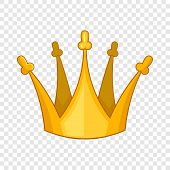 Son Of King Crown Icon. Cartoon Illustration Of Son Of King Crown Vector Icon For Web Design poster