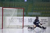 Goaltender Denis Ryisev