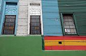 Colourful Houses Of La Boca