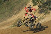 Qaud Motorbike Race