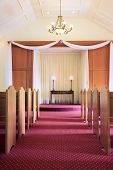 Wedding Chapel Interior - Vertical