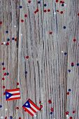 Puerto Rico Independence Day. Day Of Constitution 25 July. The Concept Of Veterans Day Or Memorial.  poster