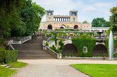 Orangerieschloss no Parque de Sanssouci
