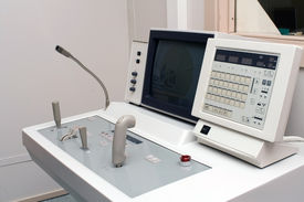 image of medical equipment  - Control panel of X - JPG
