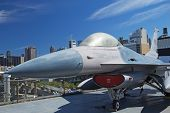 F-16 Fighting Falcon At Interpid Museum