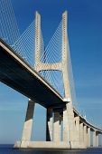 Part Of The Vasco Da Gama Bridge