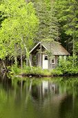 little house by the lake