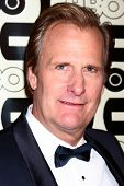 LOS ANGELES - JAN 13:  Jeff Daniels arrives at the 2013 HBO Post Golden Globe Party at Beverly Hilto