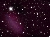 stock photo of christmas star  - Space - JPG
