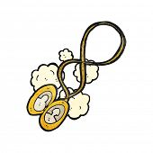 cartoon photographic locket