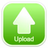 Upload button green (square)