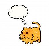 cartoon little cat