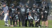 Youth Football Huddle