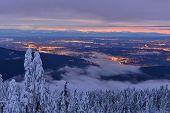 Mt Seymour Winter Sunrise
