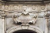 The Castellania Building Facade In Valletta, Malta