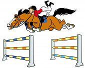 boy horse rider