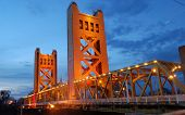 Tower Bridge Sacramento, California