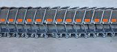 Store shopping carts