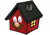 Vector Illustrations  Little Red House