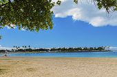 Ala Moana Beach Park And Magic Island