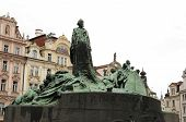 image of priest  - Jan Hus was a Czech priest philosopher reformer and master at Charles University in Prague - JPG