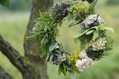 Herb Leaf And Flower Garland