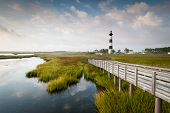 North Carolina OBX Bodie Island vuurtoren