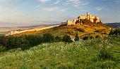 Slovakia Landscape With Spissky Castle